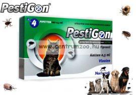 Pestigon spot on ampulla  kullancs és bolha elleni csepp macskáknak