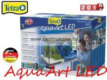 Tetra AquaArt Anthracit LED 60l-es komplett prémium akvárium szett