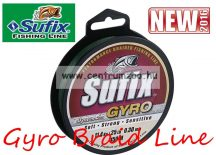Sufix Gyro Braid NEW fonott zsinór 0.26mm/15kg deep green 135m