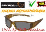 Savage Gear Slim Shades Floating Polarized Sunglasses - Dark Grey napszemüveg (57572)