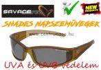 Savage Gear Slim Shades Floating Polarized Sunglasses - Dark Grey napszemüveg (57572)