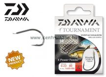 Daiwa Tournament X Power Feeder Snelled Hooks előkötött horog - FEEDER (1455) (14455-0 )