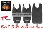 Prologic BAT Bite Alarm 3pcs Red LED (Bulk) (55778) elektromos kapásjelző  - 3 bothoz