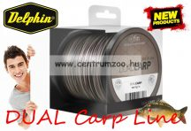 FIN DUAL CARP 1200m barna-fekete 0,28mm 13,1lbs bojlis-feederes zsinór (500626428)