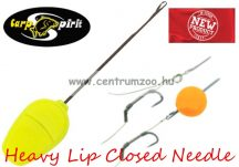 fűzőtű - Carp Spirit Heavy Lip Closed Needle fűzőtű  csalikhoz (ACS010264)