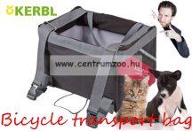 AXION BICIKLIRE RÖGZÍTHETŐ kerékpáros kutya szállító táska 38x25x25cm (80595)