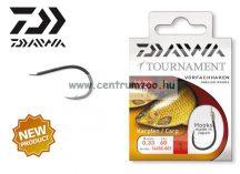 Daiwa Tournament Carp Snelled Hooks előkötött horog - PONTYOS (1450) (14450-0 )