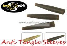 Carp Spirit Anti Tangle Sleeve DarkGreen Mini - 30db szilikon hüvely (ACS010252)