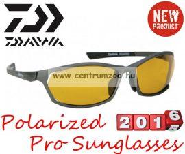 Daiwa Polarized Sunglasses grey frame amb lens modell DPROPSG8 -borostyánszín lencse (202729)