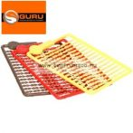Guru - Micro Hair Stops -Red, Braun, Yellow bojli, pellet stopper  (GHS)