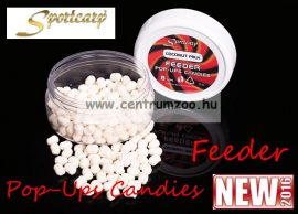 SportCarp Feeder Pop Ups Candies 8mm 75ml lebegő pellet COCONUT MILK (41980)