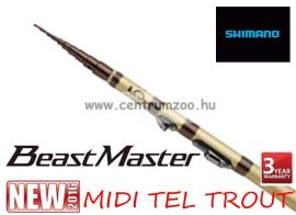 Shimano bot BEAST MASTER MIDI TEL TROUT (gyűrű nélküli) 3,9 m ACT 2 (MBMTR239)