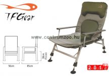 TF Gear Dave Lane - Arm Chair - karfás horgászfotel 145kg  (TFG-DLCOM-AC)