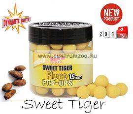Dynamite Baits Fluro Pop-Up Sweet Tiger Fluro Washouts bojli (DY621 DY622)