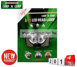 fejlámpa  CZ  LED Kopfleuchte schwarz LED fejlámpa (CZ0758)