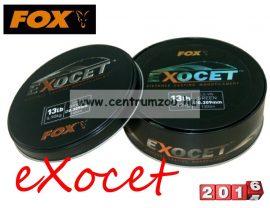 FOX Exocet Mono Line 0.309mm 13lbs 5.90kg monofil zsinór (CML123)