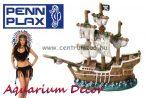Penn Plax EBI Deco dekorációs hajóroncs akváriumba 21cm (234-426562)