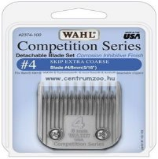 nyírófej #4 / 8mm MOSER WAHL 1245 1250 (MAX45 MAX50) gépekhez - 1247-7290