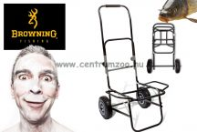 Browning Black Magic Deluxe Folding Trolley 54x45x105cm versenyládás talicska, kocsi (8702001)