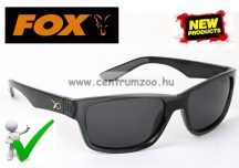 Fox Glasses Casual Polarised Sunglasses  Black frame - Grey polar napszemüveg (GSN002)