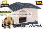 Ferplast Dog Lodge  70 Wood Outdoor fa kutyaház (87247099)