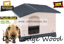 Ferplast Dog Lodge  70 Wood Outdoor fa kutyaház (87247099)
