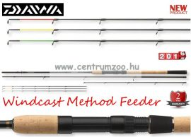 DAIWA Windcast Method Feeder 3,90m 80g feeder bot (11792-390)