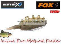 Fox Matrix Inline Evo Method Feeder 23g  feeder kosár (GFR147)