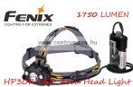 fejlámpa  FENIX HP30R LED Szürke FEJLÁMPA (1750 LUMEN) vízálló 202m fényerő