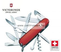 Victorinox Huntsman Red 15func zsebkés, svájci bicska  1.3713
