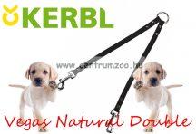 Kerbl Vegas Natural Double dupla vezető póráz 30cm 18mm (83963)