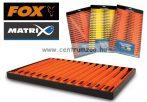 Fox Matrix Double Winders tray pack orange 26cm szerelék tartó létra szett 15db (GAC256)