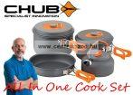 Chub® All In One Cook Set  - 4 részes edény szett (1404687)