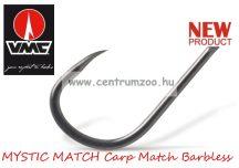 VMC 7018B Mystic Carp Short Shank szakáll nélküli pontyozó horog 10db/cs