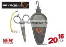 SAVAGE GEAR Magic Scissor (Splitring, Braid, Wire) olló fonott zsinórhoz is (43844)