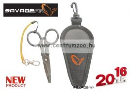 SAVAGE GEAR Magic Scissor (Splitring, Braid, Wire) olló fonott zsinórhoz is (43844)