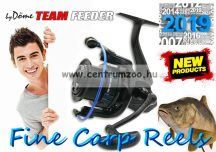 By Döme TEAM FEEDER Fine Carp 5000 7+1cs (2508-850) elsőfékes feeder orsó