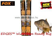 Fox EDGES™ 20lb, 6 size Wide Gape Ready Rig Barbless (CCR148) ELŐKÖTÖTT BOJLIS HOROG - szakáll néjküli