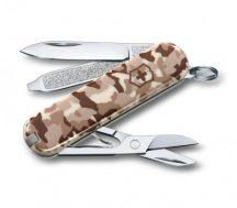 Victorinox Classic Desert Camouflage ollós zsebkés, svájci bicska  0.6223.941