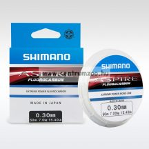Shimano zsinór Aspire Fluorocarbon 50m 0.12mm 1,25kg monofil zsinór