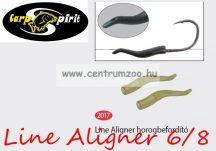 Carp Spirit Line Aligner 6/8 horogbefordító 15db  (ACS010364 ACS010126)