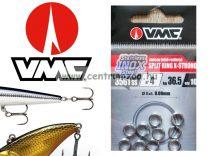 VMC  Ring inox kulcskarikák 8mm 36,5kg 4-as 9db 3x erősség (3561)