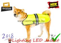 Ferplast RADIUS 50 Lighting LED Jacket láthatósági világító LED kabát - LARGE