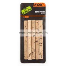 FOX EDGES Bait Cork Sticks csalikönnyítő parafa 5db (CAC536)