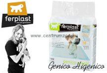 Ferplast Genico Small 10db higiéniai alátét kutyapelenka emelt nedvszívó képességgel