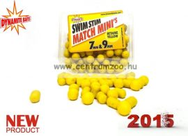 Dynamite Baits Swim Stim Match Minis 7mm & 9mm - Betaine Yellow  DY007