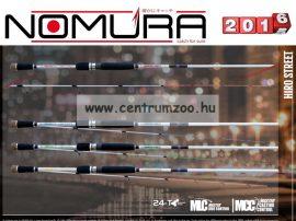 NOMURA Hiro Street Solid Tip Spin 2,32m -16g  pergető bot (25501623)