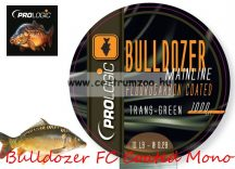 Prologic Bulldozer FC Coated Mono Trans Green 1000m 18lbs 0.37mm pontyos zsinór (54482)