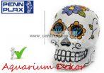 PENN PLAX Cukor koponya fehér 5x3,8x5,7cm akvárium dekorációs szobrocska (091803)