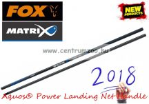 MERÍTŐNYÉL Fox Matrix Aquos® Power Landing Net Handle erős merítő nyél 3m 2 rész (GLN058)